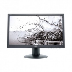 "MONITOR AOC LED 24"" Wide E2460PDA 0,28 1920x1080 5ms 250cd/mq 1.000:1(50.000.000:1) 2x1W MM Pivot Reg. in H DVI  Black"