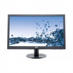 "MONITOR AOC LED 24"" Wide E2460SD2 0,276 1920x1080 1ms 250cd/mq 1.000:1(20.000.000:1) DVI VESA Black"