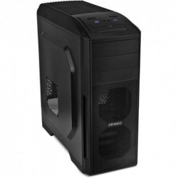 "CASE ANTEC M.TOWER ""GX-500"", 2x5.25""- 4x3.5"", 1*2.5"", 2XUSB, 3*VENT. 120mm + 3opz.,  NO ALIM., BK, ATX"
