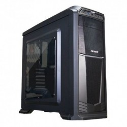 "CASE ANTEC M.TOWER ""GX-330 WIN BLU"", 1x5.25""- 2x3.5"",2*2.5"" , 1XUSB 3.0+1x USB 2.0, 2*VENT. 120mm LED BLU+5 opz.,NO ALIM, BK ATX"