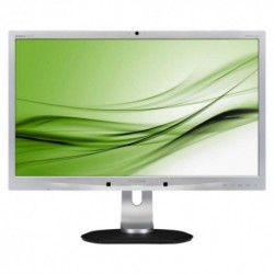"PHILIPS LED 24"" Wide 241P4QPYKES 0.276 1920x1080 Full HD 250cd/m² 5000:1(20.000.000:1) 1.5WX2 MM WEBCAM DVI 3USB Silver"