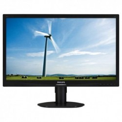 "MONITOR PHILIPS LED 24""Wide 241S4LCB/00 0.276 1920x1080 Full HD 5ms 250cd/m² 1000:1(20.000.000:1) Pivot RegH VGA DVI Black"