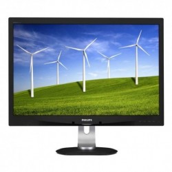 "MONITOR PHILIPS LED 24"" 16:10 240B4QPYEB/00 PLS 0.277 1920x1200 5ms 250cd/m² 1000:1(20.000.000:1) 2x1.5W MM VGA DVI Pivot RegH"