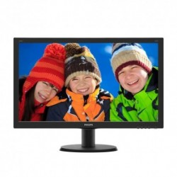 "MONITOR PHILIPS LED 23.8""Wide 240V5QDSB/00 IPS 1920x1080 5ms 250cd/mq 1000:1 (10.000.000:1) VGA DVI-D HDMI"