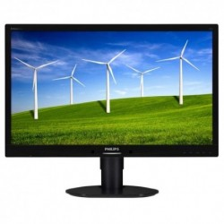 "MONITOR PHILIPS LED 24""Wide 241B4LPYCB/00 1920x1080 250cd/mq 1000:1(20.000.000:1)2x1.5W MM DVI-D DISPLAY PORT Pivot RegH Black"
