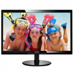 "MONITOR PHILIPS LED 24"" Wide 246V5LDSB/00 0.277 1920x1080 Full HD 1ms 250cd/m² 1000:1(10.000.000:1) VGA DVI HDMI VESA GAMING"