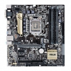 MB ASUS Z170M-PLUS Z170 LGA1151 4DDR4 VGA+HDMI+DVI+DP 2*PCIe mATX