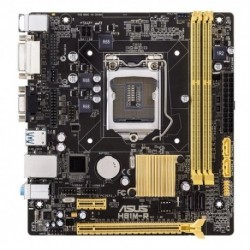 MB ASUS H81M-R H81 LGA1150 2DDRIII VGA+DVI PCIe-16x 2*SATA3 2*SATA2 4*USB COM LPT uATX