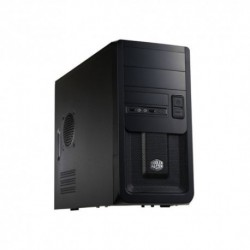 "CASE COOLER MASTER MINI ATX ""ELITE 343"" 2* USB2, Audio Front, Fan 12cm, 2x5.25"" 5x3.5""Int.+1Est. No Alim., BK - RC-343-KKN1"