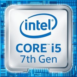 CPU INTEL CORE i5-7400 (KABYLAKE) 3.0 GHz - 6MB 1151 pin - BOX- BX80677I57400