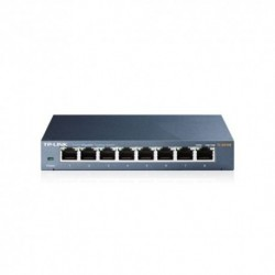 SWITCH TP-LINK TL-SG108 8P LAN METAL GIGABIT DESKTOP 10/100/1000Mbps RJ45 CASE METALLO