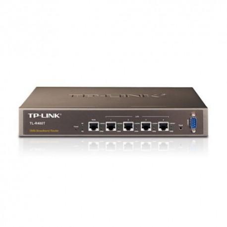 ROUTER TP-LINK TL-R480T+ 1P Wan + 1P LAN fissa + 3P LAN intercambiabili, 1P Console, Load Balancing