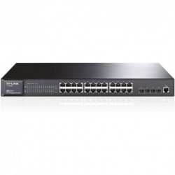 SWITCH TP-LINK TL-SG5428 24P LAN GIGABIT 10/100/1000Mbps L2 MANAGED CON 4 SLOT SFP