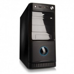 "CASE ITEK M.TOWER ""VIC PURE"" 500W, 2*USB2, Audio front, Fan 12cm, BK - ITPB8816"