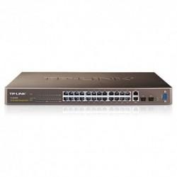 SWITCH TP-LINK TL-SL3428 24P+4P G - 24P 10/100Mbps RJ45+ 2P GIGABIT RJ45 + 2 SLOT SFP