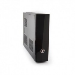 "CASE ITEK MICRO ATX MIDI TOWER ULTRA SLIM ""NEMO"", 2*USB2 No Alim., BK - Monta Alim. ATX - ITS102B"