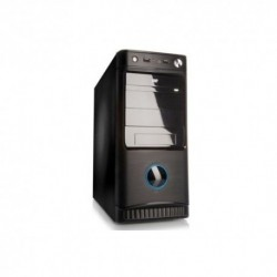 "CASE ITEK M.TOWER ""VIC ADVANCED PURE"" 500W,1*USB2 1*USB 3, Audio front, Fan 12cm silent. Air Duct laterale 8cm BK - ITPB8816U3"
