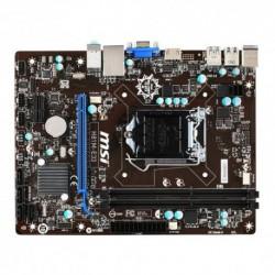 MB MSI H81M-E33 H81 LGA1150 2DDRIII VGA+HDMI PCIe-16x 4*SATA2 6*USB mATX