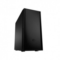 "CASE COOLER MASTER M.TOWER ""SILENCIO 550""  PAN. FONOASSORBENTI, 1*USB3 1*USB2, Fan 12cm, 3x5.25"" 7x3.5"" LETT. SD No Alim., BK"