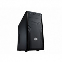 "CASE COOLER MASTER M.TOWER ""FORCE 500"", 2*USB2 1*USB3, Fan 12cm Audio Front, 2x5.25'' 8x3.5'', No Alim., BK - FOR-500-KKN1"