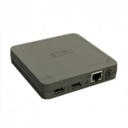 USB DEVICE SERVICE PRINT SERVER SILEX DS-510 2x USB 2.0 Hi-Speed 800 MHz CPU Windows, Mac OS X, TCP/IP