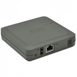 USB DEVICE SERVICE PRINT SERVER SILEX DS-520AN -(EU/UK) wired/wireless USB Device Server-EU/UK-version Includes UK power adapter