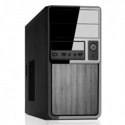 "CASE ITEK MICRO ATX MINI TOWER ""CLASS"" 500W, 1*USB3 1*USB2, Audio Front, Fan 12cm, 2x5.25"" 6x3.5"" 1x2.5""x SSD - BK - ITM89BE"