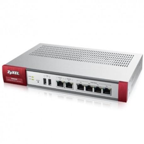 FIREWALL ZYXEL ZYXUSG-60BUN Bundle include USG 60,1 anno servizi Application Intelligence e IDP,Content Filtering, Anti Virus